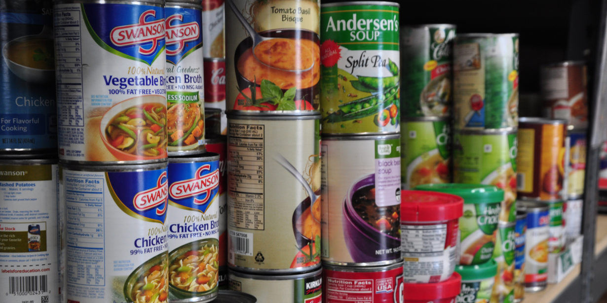 demand for food banks