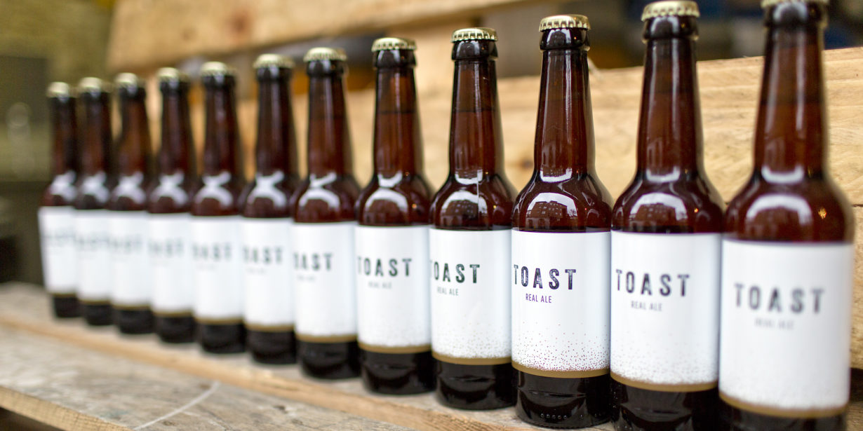 Toast ale - beer from bread