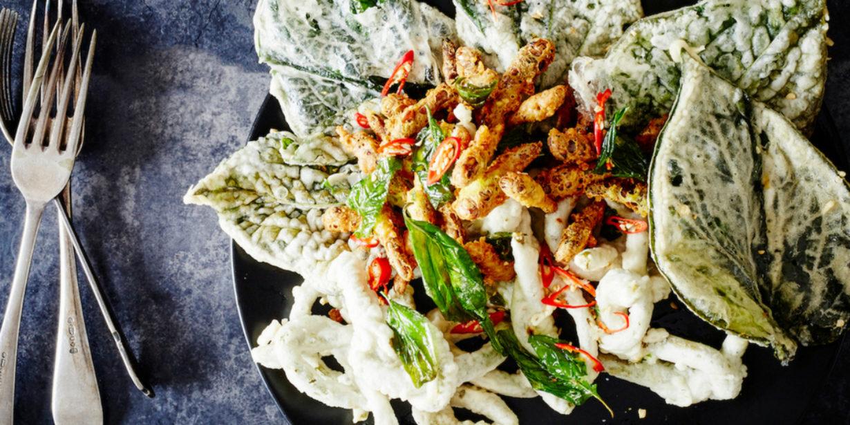 Grub tempura