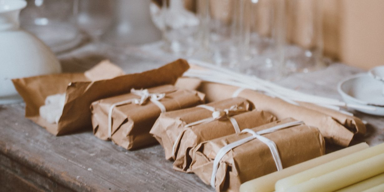 eco friendly packaging - brown paper