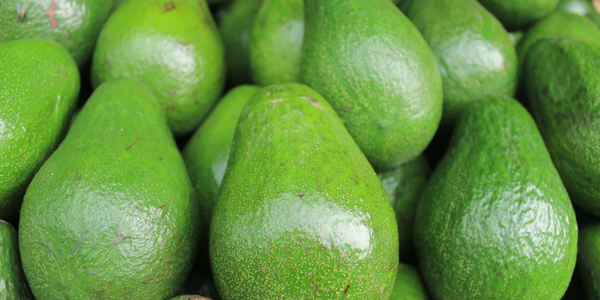 disadvantages of importing food - avocadoes