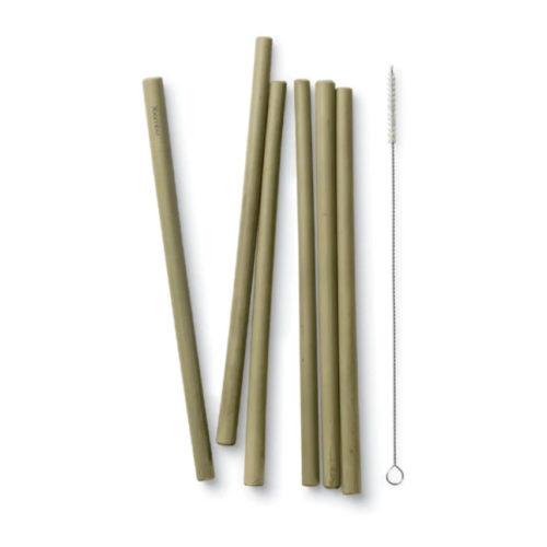 Bambu Natural Bamboo Straws