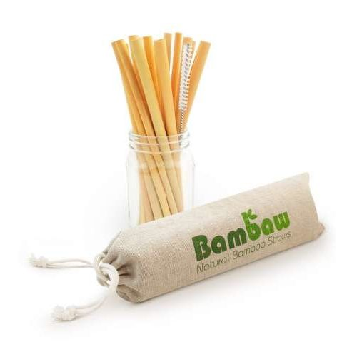 BamBaw Bamboo Drinking Straws
