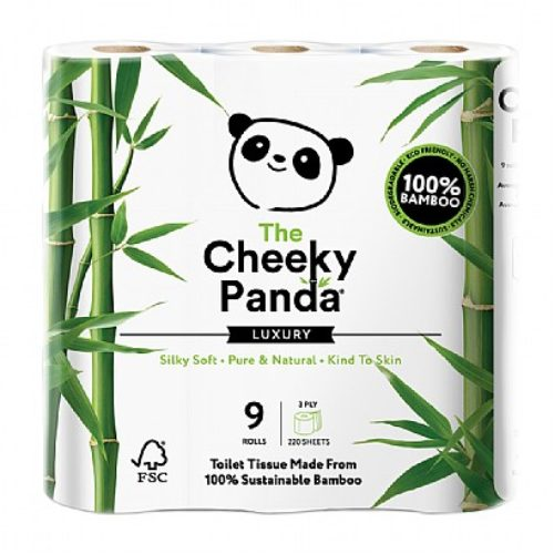 The Cheeky Panda Bamboo Toilet Paper