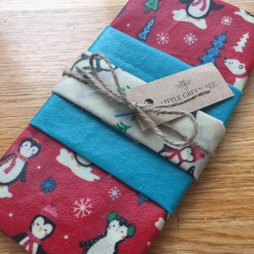 Christmas Beeswax Wraps