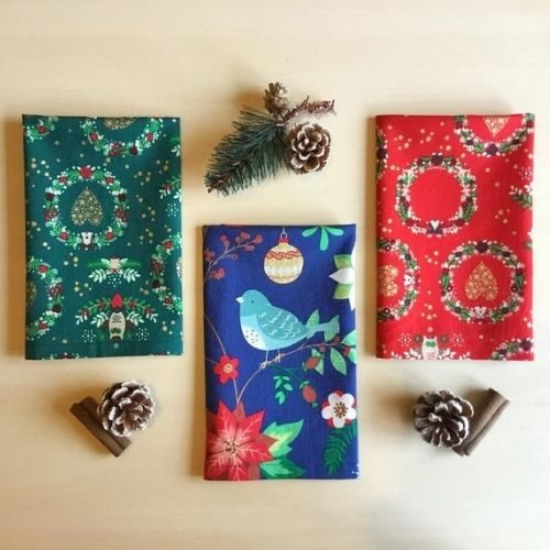 Christmas Fabric Napkins
