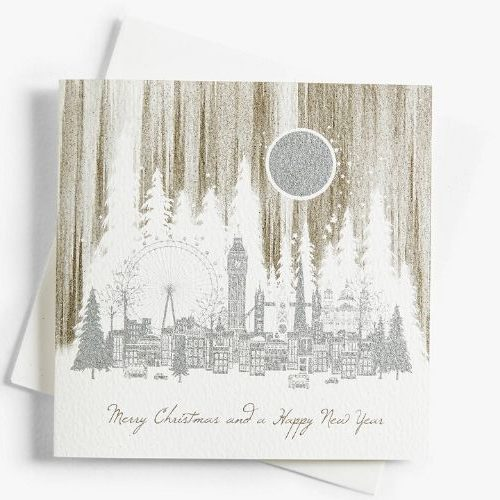 Christmas Cards with Eco Glitter