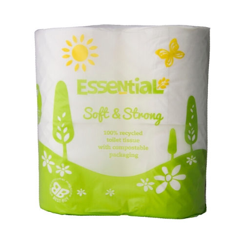 Essential Trading Recycled Toilet Paper