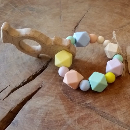 KinderEco Wooden Teething Ring