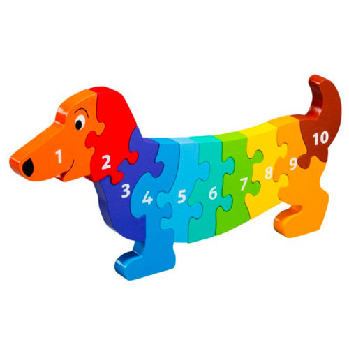 Lanka Kade Wooden Dog Jigsaw