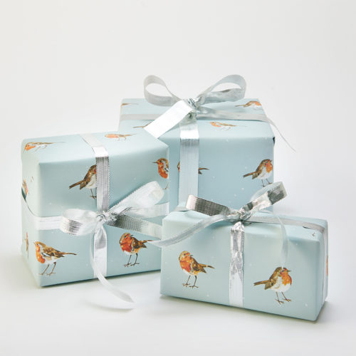 Natural Collection Recycled Wrapping Paper & Tags