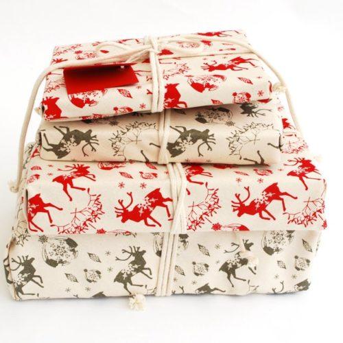 Christmas Cotton Gift Wrap