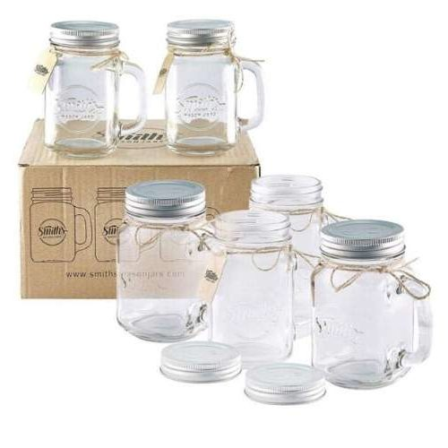 Mason Jar Mugs With Gift Tags