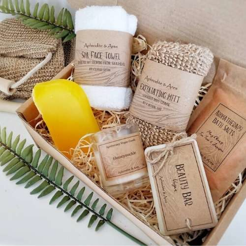 Vegan Eco Pampering And Relaxing Kit