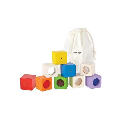 Wooden Activity Blocks