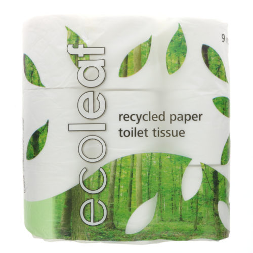 EcoLeaf Recycled Toilet Paper