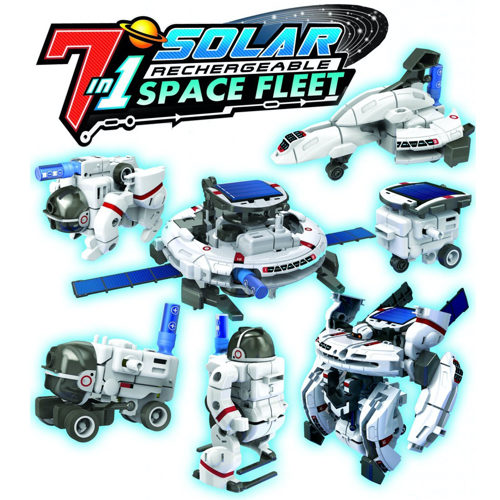 7-in-1 Solar Transforming Space Fleet