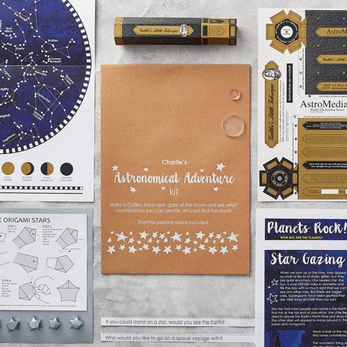Personalised Astronomical Adventure Kit