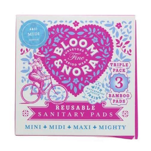 Bloom & Nora Midi Reusable Sanitary Pads