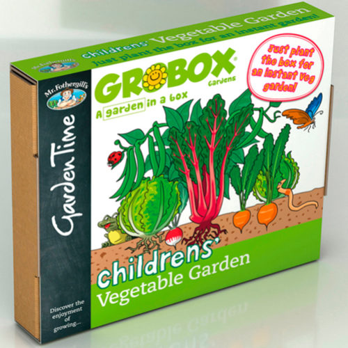 Children's Vegetable Garden GroBox