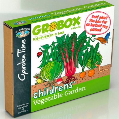 Children's Vegetable Garden GroBox