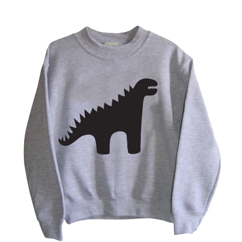 Child's Dinosaur Chalkboard Sweatshirt