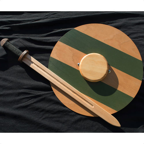Viking Toy Sword and Shield