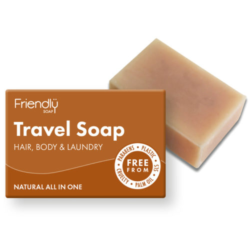 Friendly Soap Hair & Body Travel Soap Bar