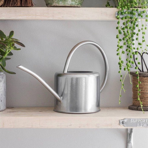Galvanised Steel Indoor Plant Watering Can