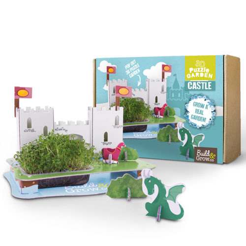 Grow Your Own 3D Puzzle Castle Garden