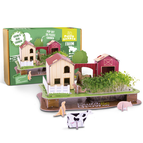 Grow Your Own 3D Puzzle Farm