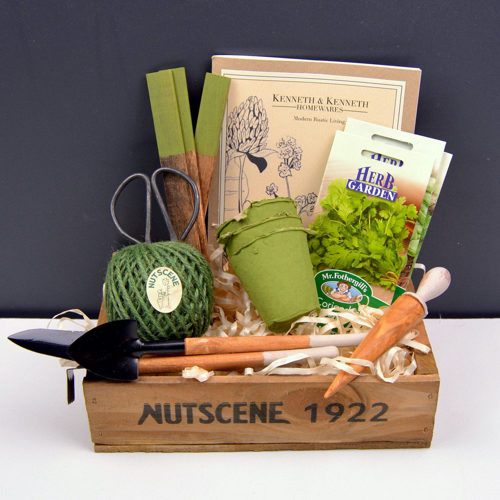 Grow Your Own Herb Gardening Gift Set
