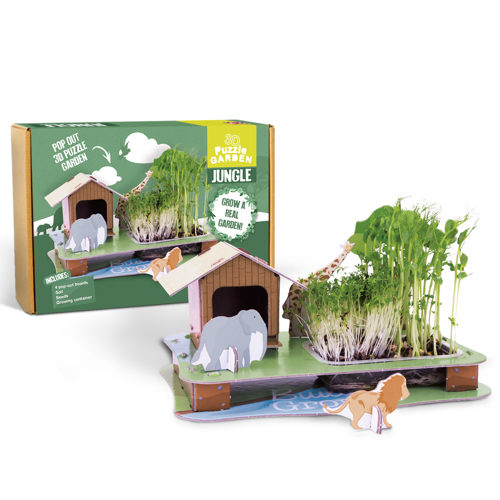 Grow Your Own 3D Puzzle Jungle