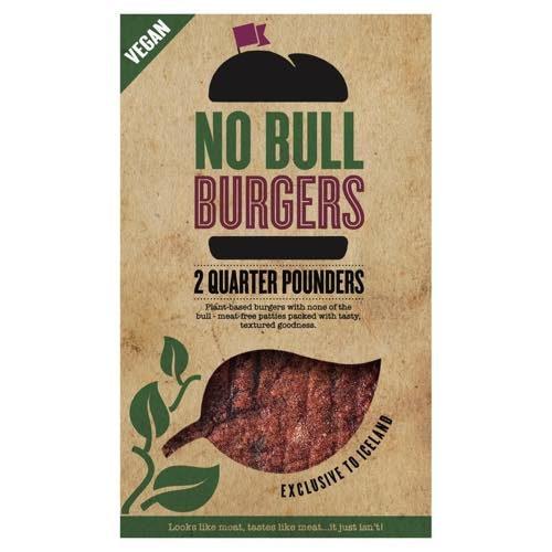 No Bull Quarter Pounder Burgers