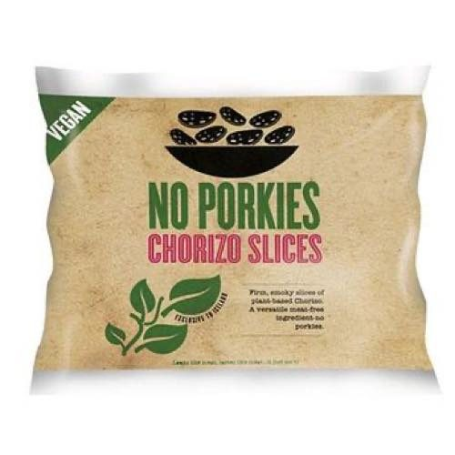 No Porkies Vegan Chorizo Slices