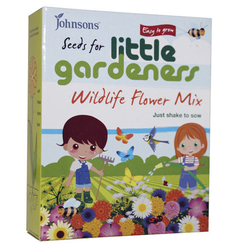 Johnson's Little Gardener's Wildflowers Seed Mix