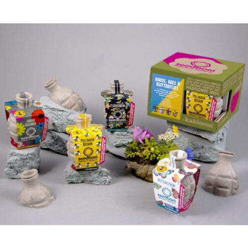 Kabloom Seedbom Gift Set – Birds, Bees & Butterflies
