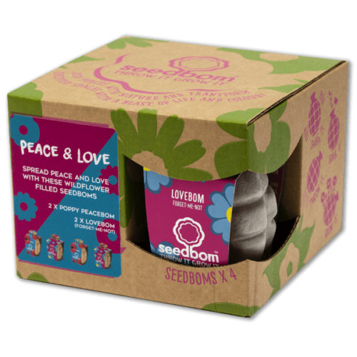 Kabloom Seedbom Gift Set – Peace And Love