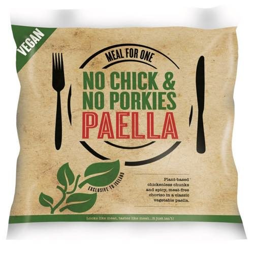 No Chick and No Porkies Vegan Paella
