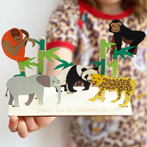 'Save Our Animals' Craft Kit