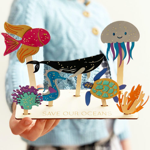 'Save Our Oceans' Craft Kit