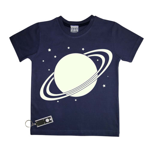 Solar Glow In The Dark Interactive Kids T-Shirt
