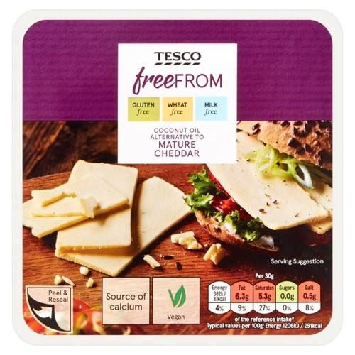 Tesco Free From Mature Cheddar