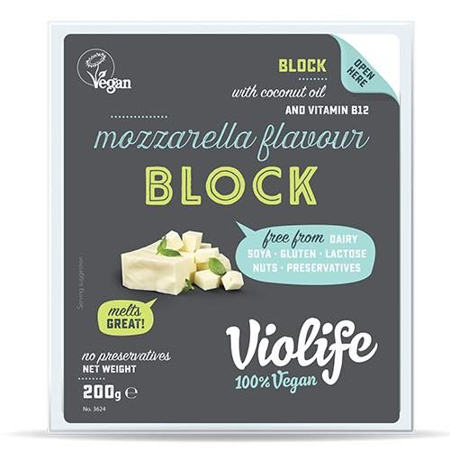 Violife Mozzarella Block for Pizza