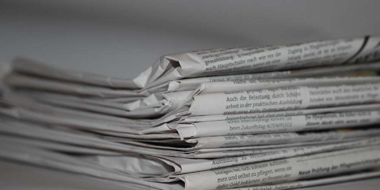 Is paper biodegradable - pipe of newspaper