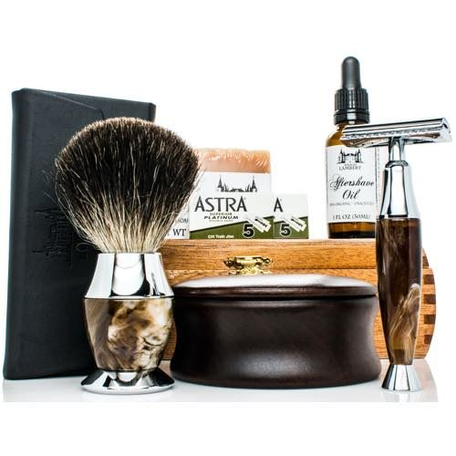 Maison Lambert's Personalised Shaving Kit