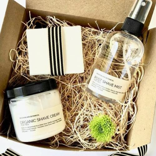 MeadowLark Botanical's Organic Shaving Kit
