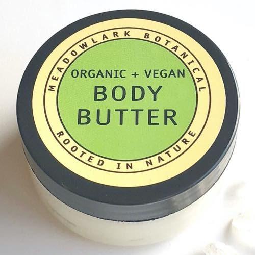 Meadowlark Botantical's Organic Magnesium Body Butter