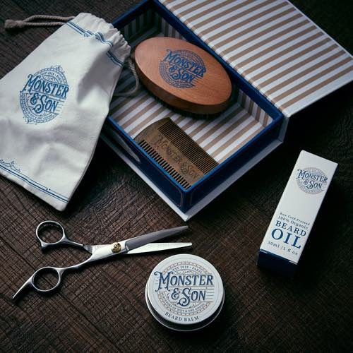 Monster & Son's Beard Grooming Kit