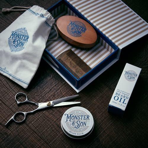 Monster & Son's Beard Grooming Kit